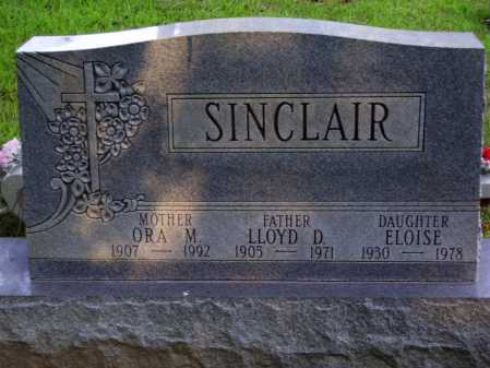 SINCLAIR, ORA M. - Meigs County, Ohio | ORA M. SINCLAIR - Ohio Gravestone Photos