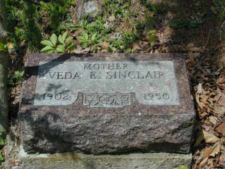 SINCLAIR, VEDA E. - Meigs County, Ohio | VEDA E. SINCLAIR - Ohio Gravestone Photos