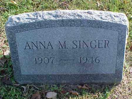 SINGER, ANNA M. - Meigs County, Ohio | ANNA M. SINGER - Ohio Gravestone Photos