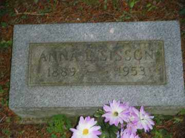 SISSON, ANNA - Meigs County, Ohio | ANNA SISSON - Ohio Gravestone Photos