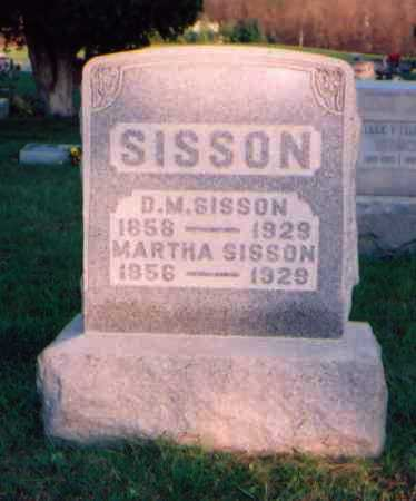 SISSON, D. M. - Meigs County, Ohio | D. M. SISSON - Ohio Gravestone Photos