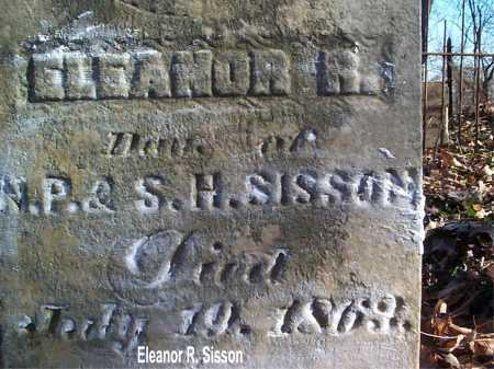 SISSON, ELEANOR - Meigs County, Ohio | ELEANOR SISSON - Ohio Gravestone Photos