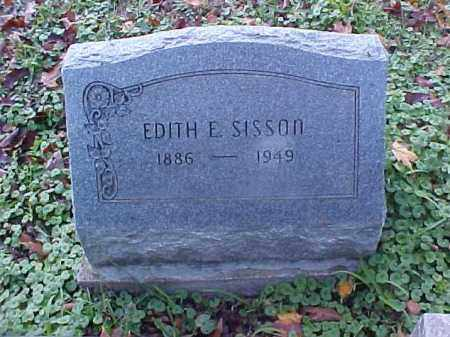 SISSON, EDITH E. - Meigs County, Ohio | EDITH E. SISSON - Ohio Gravestone Photos