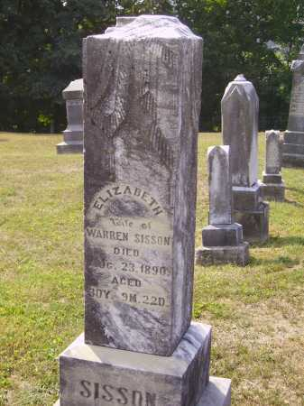 SISSON, ELIZABETH - Meigs County, Ohio | ELIZABETH SISSON - Ohio Gravestone Photos