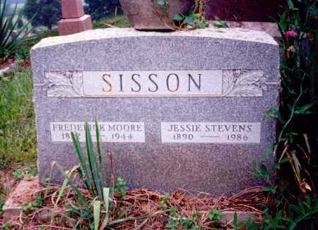 SISSON, FREDERICK MOORE - Meigs County, Ohio | FREDERICK MOORE SISSON - Ohio Gravestone Photos
