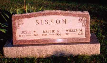 SISSON, DESSIE M. - Meigs County, Ohio | DESSIE M. SISSON - Ohio Gravestone Photos