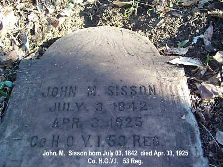 SISSON, JOHN - Meigs County, Ohio | JOHN SISSON - Ohio Gravestone Photos
