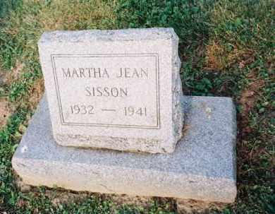 SISSON, MARTHA - Meigs County, Ohio | MARTHA SISSON - Ohio Gravestone Photos