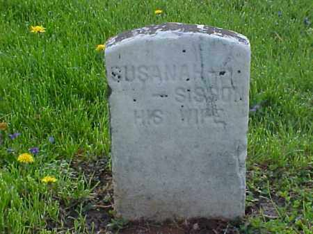 SISSON, SUSANNAH - Meigs County, Ohio | SUSANNAH SISSON - Ohio Gravestone Photos