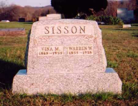 SISSON, WARREN W. - Meigs County, Ohio | WARREN W. SISSON - Ohio Gravestone Photos