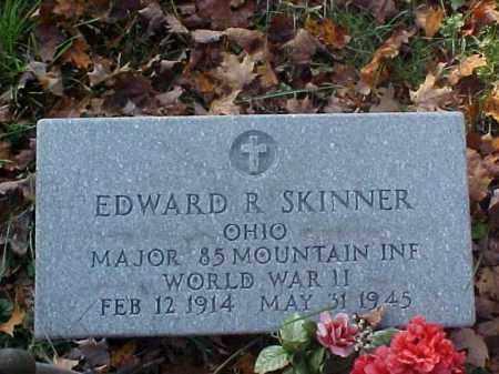 SKINNER, EDWARD R. - Meigs County, Ohio | EDWARD R. SKINNER - Ohio Gravestone Photos