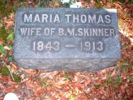 THOMAS SKINNER, MARIA - Meigs County, Ohio | MARIA THOMAS SKINNER - Ohio Gravestone Photos