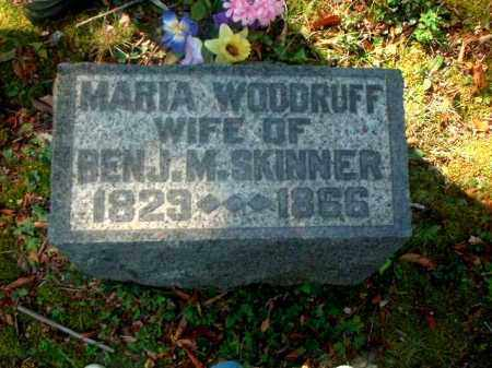 WOODRUFF SKINNER, MARIA - Meigs County, Ohio | MARIA WOODRUFF SKINNER - Ohio Gravestone Photos