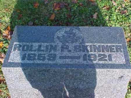 SKINNER, ROLLIN P. - Meigs County, Ohio | ROLLIN P. SKINNER - Ohio Gravestone Photos