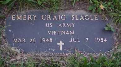 SLAGLE, EMERY CRAIG JR. - Meigs County, Ohio | EMERY CRAIG JR. SLAGLE - Ohio Gravestone Photos