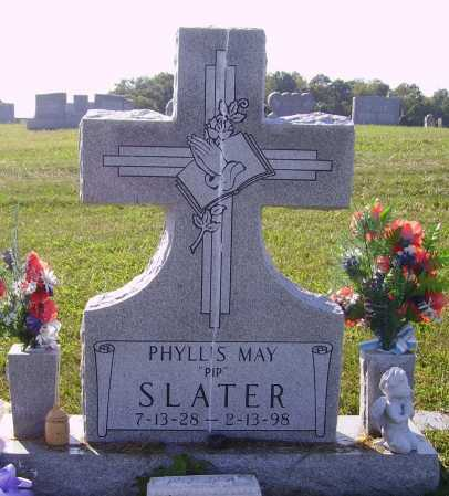 SLATER, PHYLLIS MAY - Meigs County, Ohio | PHYLLIS MAY SLATER - Ohio Gravestone Photos