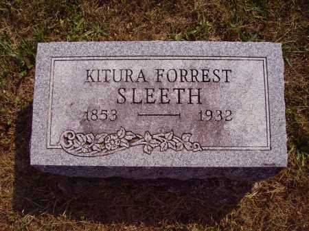 SLEETH, KITURA - Meigs County, Ohio | KITURA SLEETH - Ohio Gravestone Photos