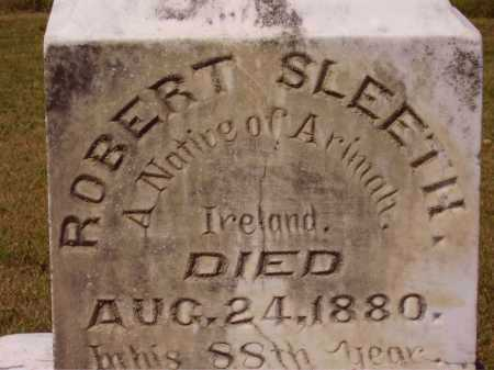SLEETH, ROBERT - CLOSEVIEW - Meigs County, Ohio | ROBERT - CLOSEVIEW SLEETH - Ohio Gravestone Photos