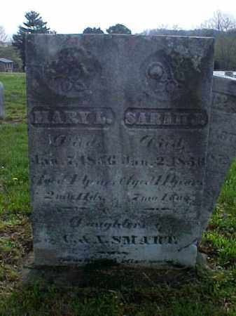 SMART, SARAH L. - Meigs County, Ohio | SARAH L. SMART - Ohio Gravestone Photos