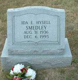 HYSELL SMEDLEY, IDA E. - Meigs County, Ohio | IDA E. HYSELL SMEDLEY - Ohio Gravestone Photos