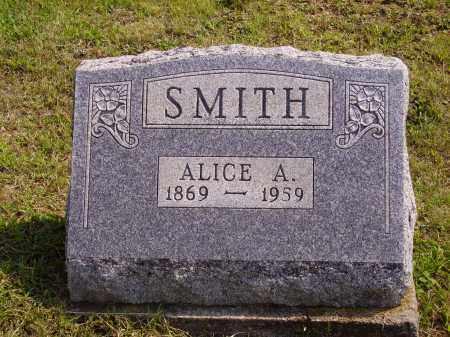 SMITH, ALICE A. - Meigs County, Ohio | ALICE A. SMITH - Ohio Gravestone Photos
