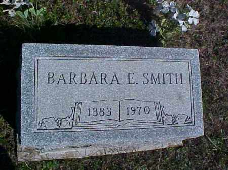 SMITH, BARBARA E. - Meigs County, Ohio | BARBARA E. SMITH - Ohio Gravestone Photos