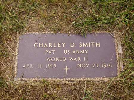 SMITH, CHARLEY D. - Meigs County, Ohio | CHARLEY D. SMITH - Ohio Gravestone Photos