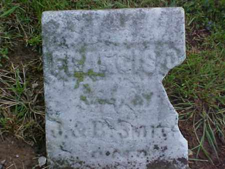 SMITH, FRANCIS O. - Meigs County, Ohio | FRANCIS O. SMITH - Ohio Gravestone Photos