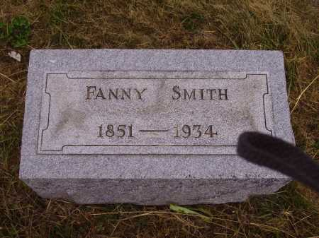 SMITH, FANNY - Meigs County, Ohio | FANNY SMITH - Ohio Gravestone Photos
