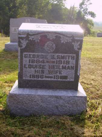 HEILMAN SMITH, LOUISE - Meigs County, Ohio | LOUISE HEILMAN SMITH - Ohio Gravestone Photos