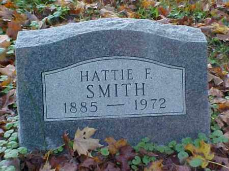 SMITH, HATTIE F. - Meigs County, Ohio | HATTIE F. SMITH - Ohio Gravestone Photos
