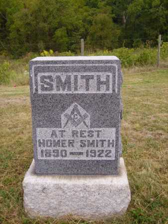 SMITH, HOMER - Meigs County, Ohio | HOMER SMITH - Ohio Gravestone Photos