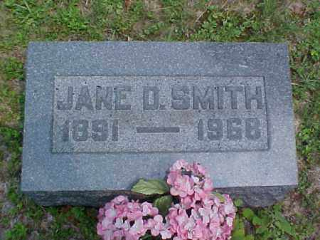 SMITH, JANE D. - Meigs County, Ohio | JANE D. SMITH - Ohio Gravestone Photos