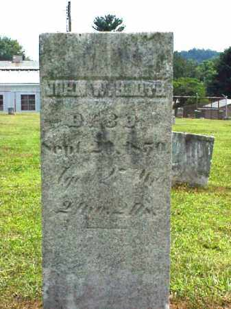 SMITH, JOHN W. - Meigs County, Ohio | JOHN W. SMITH - Ohio Gravestone Photos