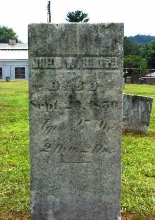 SMITH, JOHN W. - Meigs County, Ohio | JOHN W. SMITH - Ohio Gravestone Photos