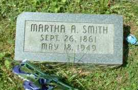 SMITH, MARTHA A. - Meigs County, Ohio | MARTHA A. SMITH - Ohio Gravestone Photos