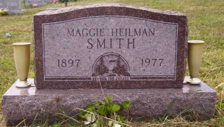 HEILMAN SMITH, MAGGIE - Meigs County, Ohio | MAGGIE HEILMAN SMITH - Ohio Gravestone Photos