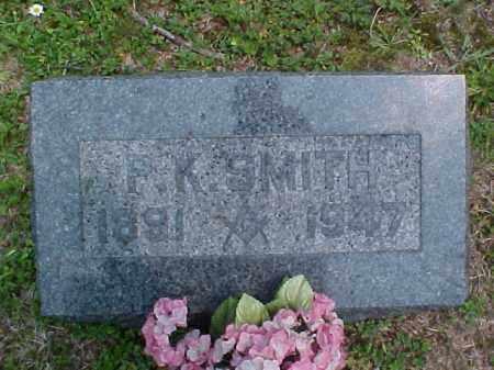 SMITH, P.K. - Meigs County, Ohio   P.K. SMITH - Ohio Gravestone Photos