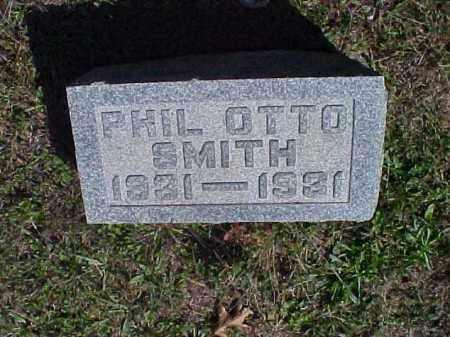 SMITH, PHIL OTTO - Meigs County, Ohio | PHIL OTTO SMITH - Ohio Gravestone Photos
