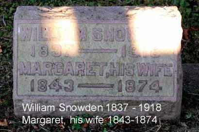 SNOWDEN, MARGARET - Meigs County, Ohio | MARGARET SNOWDEN - Ohio Gravestone Photos