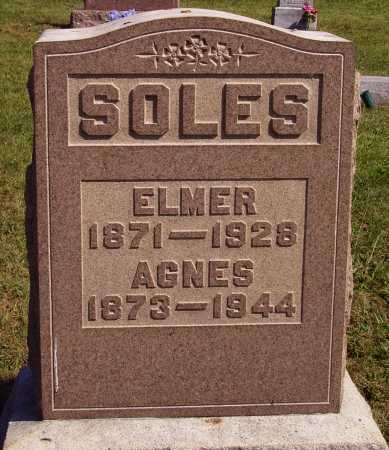 SOLES, ANGES - Meigs County, Ohio | ANGES SOLES - Ohio Gravestone Photos