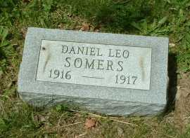 SOMERS, DANIEL LEO - Meigs County, Ohio | DANIEL LEO SOMERS - Ohio Gravestone Photos