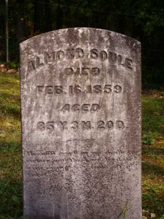 SOULE, ALMOND - Meigs County, Ohio | ALMOND SOULE - Ohio Gravestone Photos