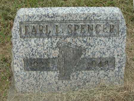 SPENCER, EARL L. - Meigs County, Ohio | EARL L. SPENCER - Ohio Gravestone Photos