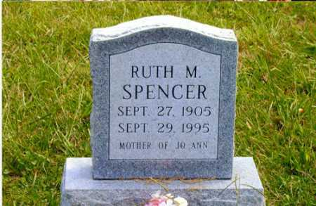 FRECKER SPENCER, RUTH M. - Meigs County, Ohio | RUTH M. FRECKER SPENCER - Ohio Gravestone Photos
