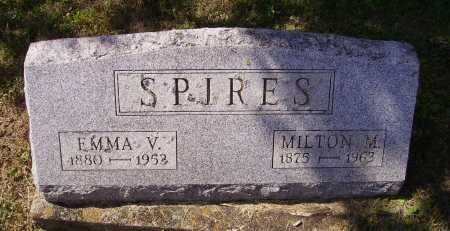 COOK SPIRES, EMMA V. - Meigs County, Ohio | EMMA V. COOK SPIRES - Ohio Gravestone Photos