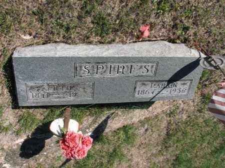 SPIRES, LILLIE - Meigs County, Ohio | LILLIE SPIRES - Ohio Gravestone Photos