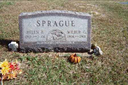 SPRAGUE, HELEN F - Meigs County, Ohio | HELEN F SPRAGUE - Ohio Gravestone Photos