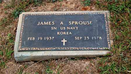 SPROUSE, JAMES ALLAN - Meigs County, Ohio | JAMES ALLAN SPROUSE - Ohio Gravestone Photos