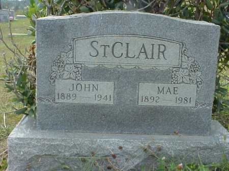 ST.CLAIR, JOHN - Meigs County, Ohio | JOHN ST.CLAIR - Ohio Gravestone Photos